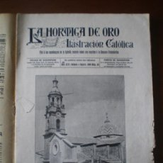 Coleccionismo de Revistas y Periódicos: LA HORMIGA DE ORO Nº 36 (04/09/1909) ALQUERIA DE LA CONDESA MELILLA SANTIAGO AEROSTATO ACROBATA. Lote 24254420