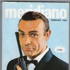 Coleccionismo de Revistas y Periódicos: REVISTA MERIDIANO FEBRERO DE 1966. Lote 24273669