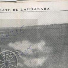 Coleccionismo de Revistas y Periódicos: REVISTA 1909 PEÑON DE VELEZ GOMERA GUERRA RESTINGA MULUYA RIF MELILLA URIACH FERRER GUARDIA ALCIRA. Lote 24297206