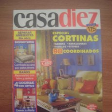 Coleccionismo de Revistas y Periódicos: REVISTA CASA DIEZ - Nº 33- ABRIL 2000 ESPECIAL CORTINAS . Lote 24308404