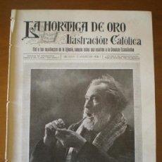 Coleccionismo de Revistas y Periódicos: LA HORMIGA DE ORO Nº 8 (22/02/19) MORELLA HUELVA JULIO ANTONIO VITORIA OVIEDO CONCA DE BARBERA MADRI. Lote 24345665