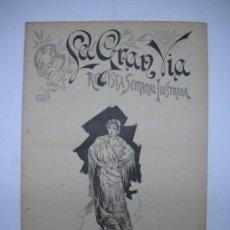 Coleccionismo de Revistas y Periódicos: LA GRAN VIA.REVISTA SEMANAL ILUSTRADA.HUMOR,Nº 43 22 ABRIL 1894.16PP.GRABADOS EN EL TEXTO.. Lote 24412030