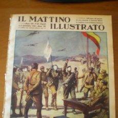 Coleccionismo de Revistas y Periódicos: IL MATTINO ILLUSTRATO Nº 36 (06/09/37) GUERRA CIVIL SANTANDER CANTABRIA . Lote 24433754