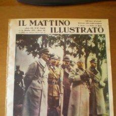 Coleccionismo de Revistas y Periódicos: IL MATTINO ILLUSTRATO Nº 40 (04/10/37) HITLER MUSSOLINI AVIACION CHINA. Lote 24434530