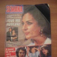 Coleccionismo de Revistas y Periódicos: REVISTA SEMANA -Nº 2522,- 15 JUNIO 1998 DIFINITIVAMENTE LOLA FLORES SE SETARA EN EL BANQUILLO . Lote 24459271