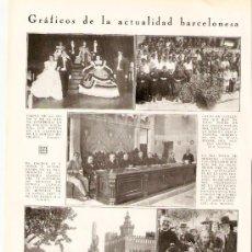 Coleccionismo de Revistas y Periódicos: RECORTE PRENSA.AÑO 1931.DANZAS.BAILES Y TRAJES TIPICOS DEL AMPURDAN.EMPORDA.SEMANA AMPURDANESA .. Lote 24494684