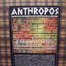 Coleccionismo de Revistas y Periódicos: ANTHROPOS - Nº 82 / 83 - DOCUMENTACIÓN CIENTÍFICA CULTURA . Lote 24573570