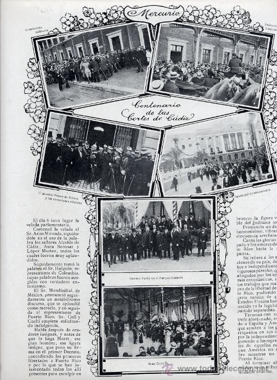 INDUSTRIAS ESPAÑOLAS 1915 3 HOJAS REVISTA (Coleccionismo - Revistas y Periódicos Modernos (a partir de 1.940) - Otros)