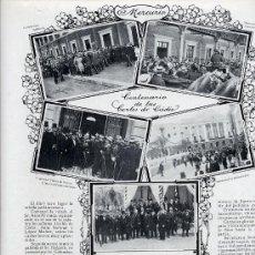 Coleccionismo de Revistas y Periódicos: INDUSTRIAS ESPAÑOLAS 1915 3 HOJAS REVISTA. Lote 24620683
