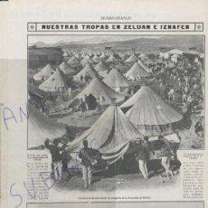 Coleccionismo de Revistas y Periódicos: REVISTA 1912 GUERRA DE MARRUECOS RIF ZELUAN IZNAFEN AIZPURU KERT INSTITUT D' ESTUDIS CATALANS FREG. Lote 24660436
