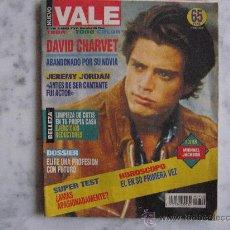 Coleccionismo de Revistas y Periódicos: VALE,DAVID CHARVET ABANDONADO POR SU NOVIA-MADONNA-JEREMY JORDAN-POSTER MICHAEL JACKSON-. Lote 24688522