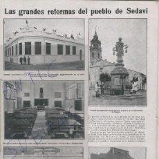 Coleccionismo de Revistas y Periódicos: REVISTA. AÑO 1926.FOTOS ANTIGUAS DE SEDAVI.VALENCIA. REJONEO.TOREO A CABALLO.TOROS.TORERO.ESQUERDO. . Lote 24739578