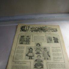 Coleccionismo de Revistas y Periódicos: PERIODICO PARA SEÑORA LA MODA ELEGANTE 1918.. Lote 27535255