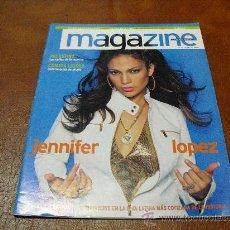 Coleccionismo de Revistas y Periódicos: REV. MAGAZINE 8/2002 .-JENNIFER LOPEZ AMPLIO RPTJE..- PALESTINA, HIAS. DE MAQUIS, COCINA.. Lote 24770978
