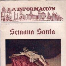 Coleccionismo de Revistas y Periódicos: SEMANA SANTA CADIZ - REVISTA LA INFORMACION 1942. Lote 24929933