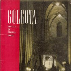Coleccionismo de Revistas y Periódicos: SEMANA SANTA SEVILLA - REVISTA GOLGOTA. Lote 24930334