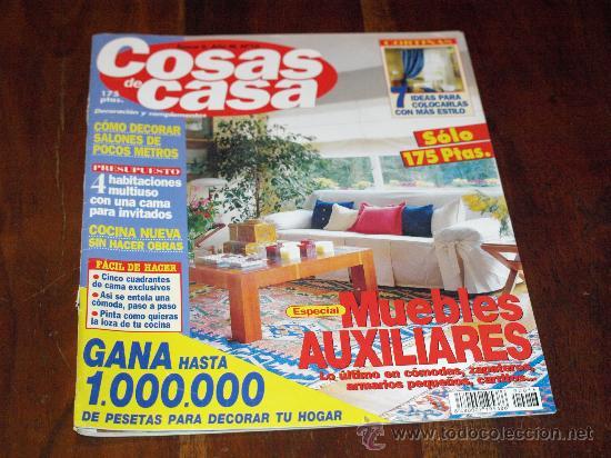 Revista de decoraci n cosas de casa n 16 ep ca comprar for Cosas de casa revista decoracion