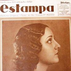 Coleccionismo de Revistas y Periódicos: REVISTA ESTAMPA 23 ENERO 1932 ALICANTE-SEVILLA-VALENCIA-BILBAO VER FOTOS . Lote 25001373