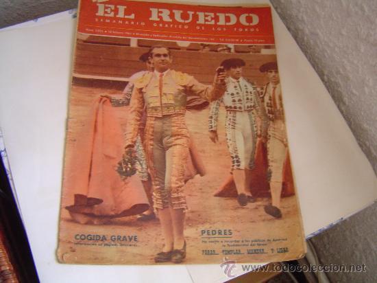 SEMANARIO EL RUEDO.. (Coleccionismo - Revistas y Periódicos Modernos (a partir de 1.940) - Otros)