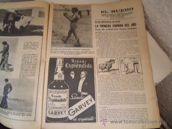 Coleccionismo de Revistas y Periódicos: Semanario EL RUEDO.. - Foto 3 - 25068812