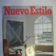 Coleccionismo de Revistas y Periódicos: REVISTA NUEVO ESTILO Nº 163 OCTUBRE 1991.. Lote 25122535