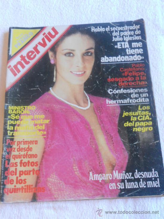 Revista Interviu Nº 385 Añ0 1983 Amparo Muñoz Sold At Auction