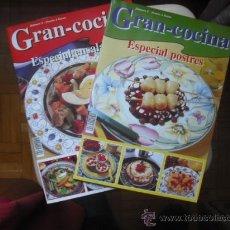 Coleccionismo de Revistas y Periódicos: GRAN COCINA - ESPECIAL ENSALADAS Y POSTRES - NUMEROS 5 Y 6. Lote 25198443