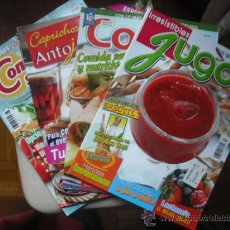 Coleccionismo de Revistas y Periódicos: CINCO REVISTAS DE COCINA VARIADAS . Lote 25198501