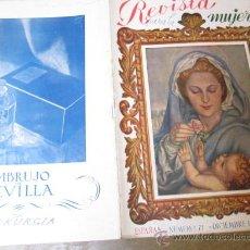 Coleccionismo de Revistas y Periódicos: REVISTA FALANGE - REVISTA PARA LA MUJER - Nº 71 DIC 1943 - PERFECTA - GUERRA CIVIL CORREO 3€. Lote 25223329