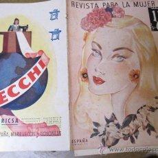 Coleccionismo de Revistas y Periódicos: REVISTA FALANGE - REVISTA PARA LA MUJER - Nº 52 MAYO 1942 - PERFECTA - GUERRA CIVIL CORREO 3€. Lote 25223652