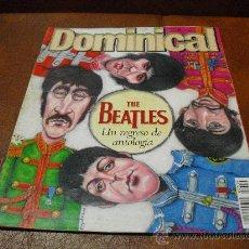 Coleccionismo de Revistas y Periódicos: REVISTA : DOMINICAL 9/ 2000- THE BEATLES AMPLIO RPTJE. CHILLIDA, C. EASTWOOD,E.IGLESIAS. Lote 25231911