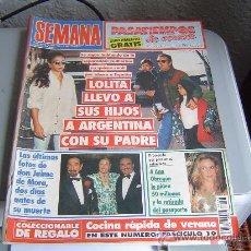 Coleccionismo de Revistas y Periódicos: REVISTA SEMANA.. Lote 25335295