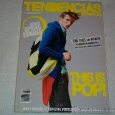 Coleccionismo de Revistas y Periódicos: REVISTA MODA - TENDENCIAS Nº 129 - FASHION MAGAZINE - FEBRERO 2008 - INTERIOR: RAÚL AREVALO. Lote 25367175