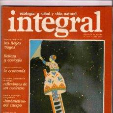 Coleccionismo de Revistas y Periódicos: REVISTA INTEGRAL SEIS EJEMPLARES DISTINTOS.. Lote 26806503