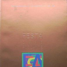 Coleccionismo de Revistas y Periódicos: ALICANTE, REVISTA FESTA 1996 HOGUERAS DE SAN JUAN, VER FOTO ADICIONAL. Lote 26697875