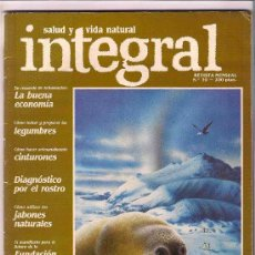 Coleccionismo de Revistas y Periódicos: REVISTA INTEGRAL OCHO EJEMPLARES DISTINTOS.. Lote 26806506