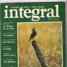 Coleccionismo de Revistas y Periódicos: REVISTA INTEGRAL CUATRO EJEMPLARES DISTINTOS.. Lote 26806508