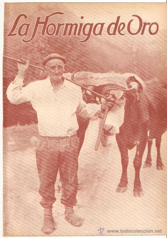 RECORTE PRENSA.AÑO 1931.TIPO VASCO.PERSONAJES TIPICOS.ALDEANO DE MARQUINA.INDALECIO OJANGUREN.VIZCAY (Coleccionismo - Revistas y Periódicos Modernos (a partir de 1.940) - Otros)