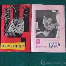 Coleccionismo de Revistas y Periódicos: FOLLETOS P.P.C. (PROPAGANDA POPULAR CATOLICA)Nº20-114-20 PAGINAS-16X11CM-AÑO 1959-. Lote 26161493