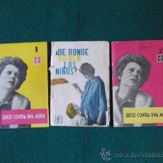 Coleccionismo de Revistas y Periódicos: FOLLETOS P.P.C. (PROPAGANDA POPULAR CATOLICA)Nº193-194-197--20 PAGINAS-16X11CM-AÑO 1962-. Lote 26161715