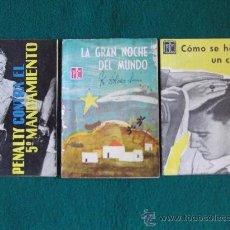 Coleccionismo de Revistas y Periódicos: FOLLETOS P.P.C. (PROPAGANDA POPULAR CATOLICA)Nº52-172-192-20 PAGINAS-16X11CM-AÑO 1962-. Lote 26161742