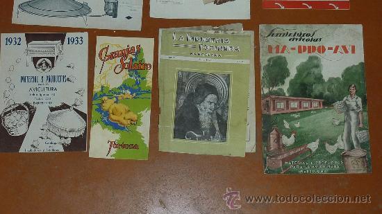 Coleccionismo de Revistas y Periódicos: Lote de papeles avicolas: catalogos, revistas... avicola. Avicultura. Todo de años 30s 40s 50s. - Foto 3 - 67402619
