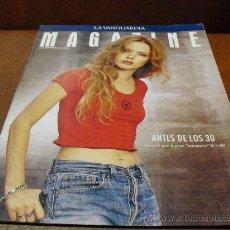 Coleccionismo de Revistas y Periódicos: REV. MAGAZINE 4/1.994.- .CRISTINA ROSENVINGE (LA ROCKERA DANESA), ANNA MONZÓ -PINTORA-, EL BUDISMO,. Lote 36088454