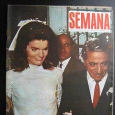 Coleccionismo de Revistas y Periódicos: SEMANA AÑO XXIX Nº1498. 2 NOVIEMBRE 1968. Lote 25737016