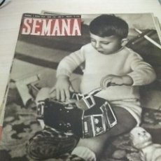 Coleccionismo de Revistas y Periódicos: REVISTA SEMANA. 1943 Nº 150.2ª GUERRA MUNDIAL. LA GUERRA EN AFRICA. Lote 25727101