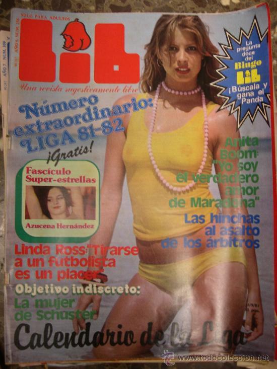 LIB - 256 - 1981 - AZUCENA HERNANDEZ - LINDA ROSS - ANITA BOOM (Coleccionismo - Revistas y Periódicos Modernos (a partir de 1.940))
