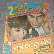 Coleccionismo de Revistas y Periódicos: 2 SUPER FOTONOVELAS EXTRA DE BONITA 116 PÁGINAS CONTRAPORTADA MASSIEL 1967. Lote 27435188