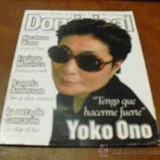 Coleccionismo de Revistas y Periódicos: REV.DE DOMINICAL 6/1997 .- YOCO ONO .- REPTJE. PAMELA ANDERSON, ENRIQUE MORENTE,ABRAHAN OLANO. Lote 81463871