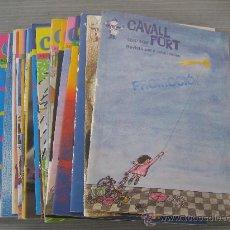 Coleccionismo de Revistas y Periódicos: LOTE DE 29 REVISTAS CAVALL FORT . Lote 26077370