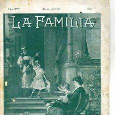 Coleccionismo de Revistas y Periódicos: REVISTA LA FAMILIA JULIO 1924. Lote 26126347